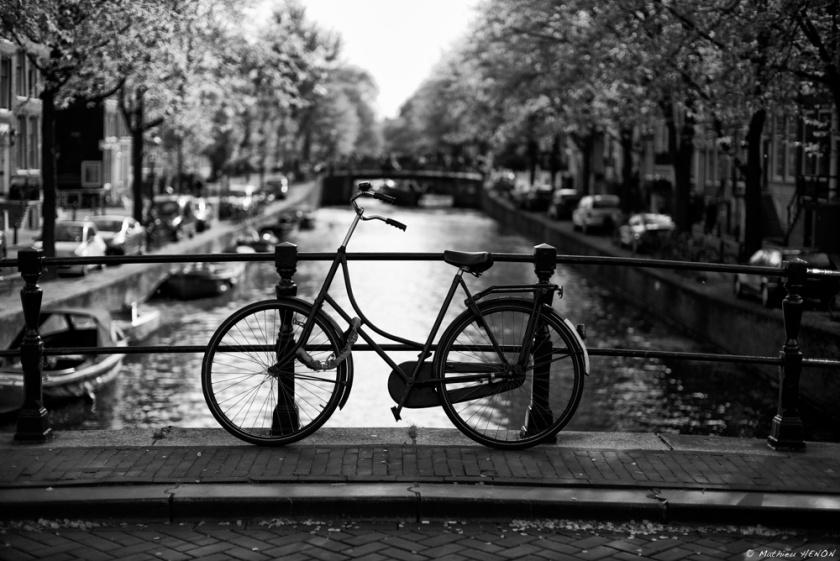 Le vélo sur le pont